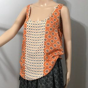 Lucky Brand Fall Style Sleeveless Top Size M